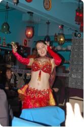 表参道のトルコ料理店 Legend のベリーダンスショー