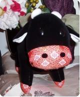 2009年の干支は丑(うし) 丑グッズ お年賀手ぬぐい販売開始