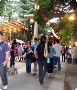 原宿、青山 熊野神社のお祭