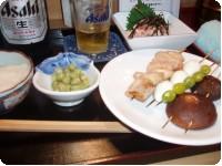 江戸 深川の焼き鳥屋さんで 江戸の食文化を楽しむ